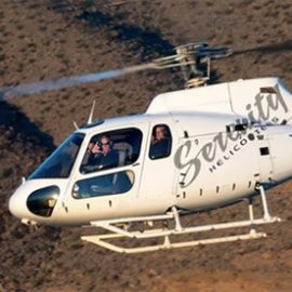 $429 for Grand Canyon Helicopter Firedancer Tour from Serenity Helicopters ($529 Value)