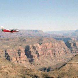 Airplane Tour for Two at Grand Canyon Scenic Airlines Plus $20 Gift Card to Senor Frogs(Up to 38% Off)