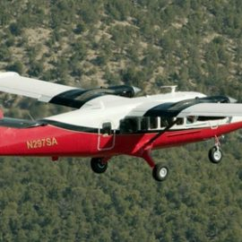Grand Canyon Landmarks Tour by Airplane with Optional Hummer