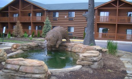 Stay at Grizzly Jack's Grand Bear Resort in North Utica, IL. Dates into November.