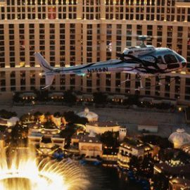 Viator Exclusive: VIP Helicopter Strip Flight with Eiffel Tower Dinner