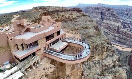 West Rim Grand Canyon Tour for One with Optional Meals and Helicopter Flight at Comedy on Deck (Up to 44% Off)